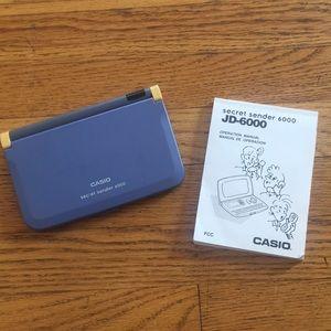 Vintage Secrets Sender 6000 by Casio.